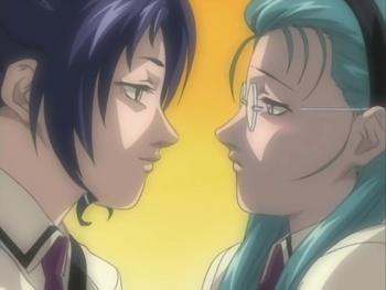 Nami Kozono and Mochida